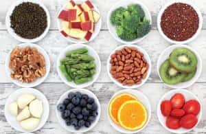 Les fibre sont importantes pour régime alimentaire sain