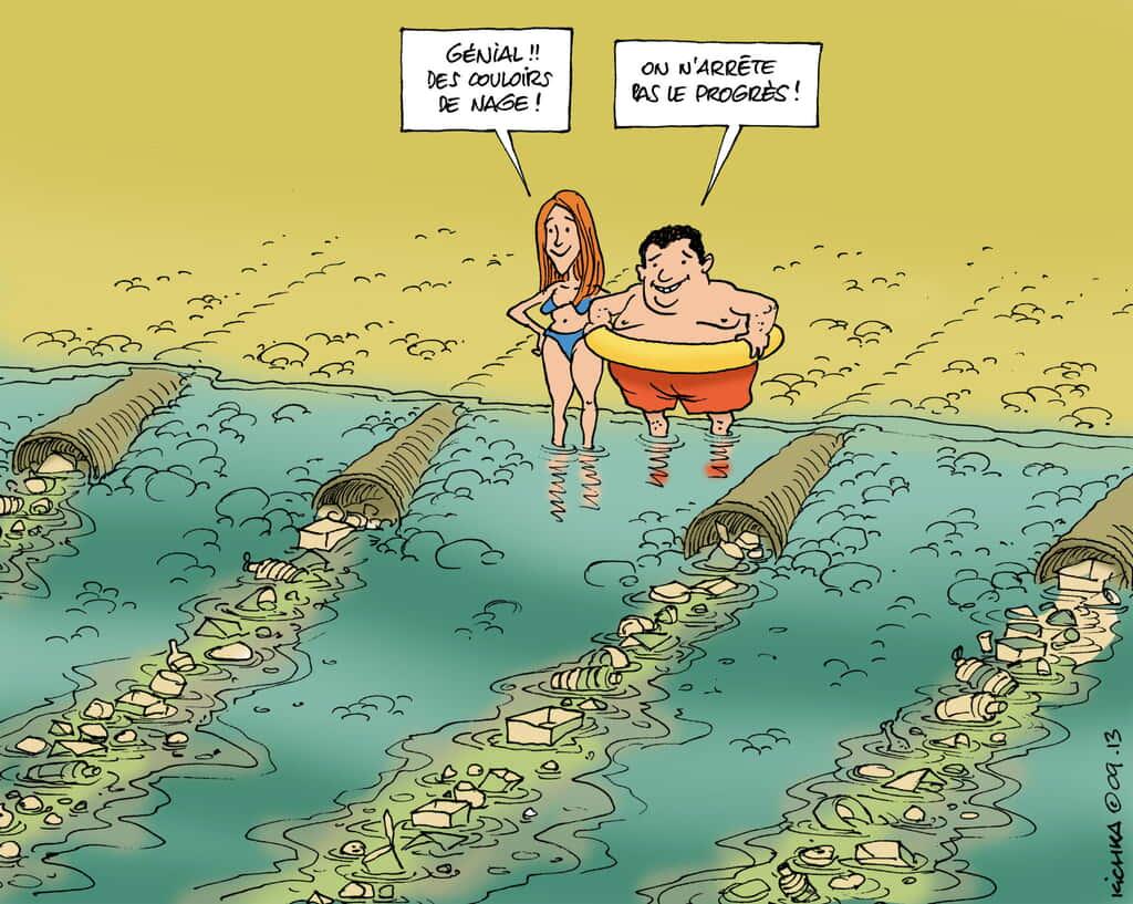 océans pollués